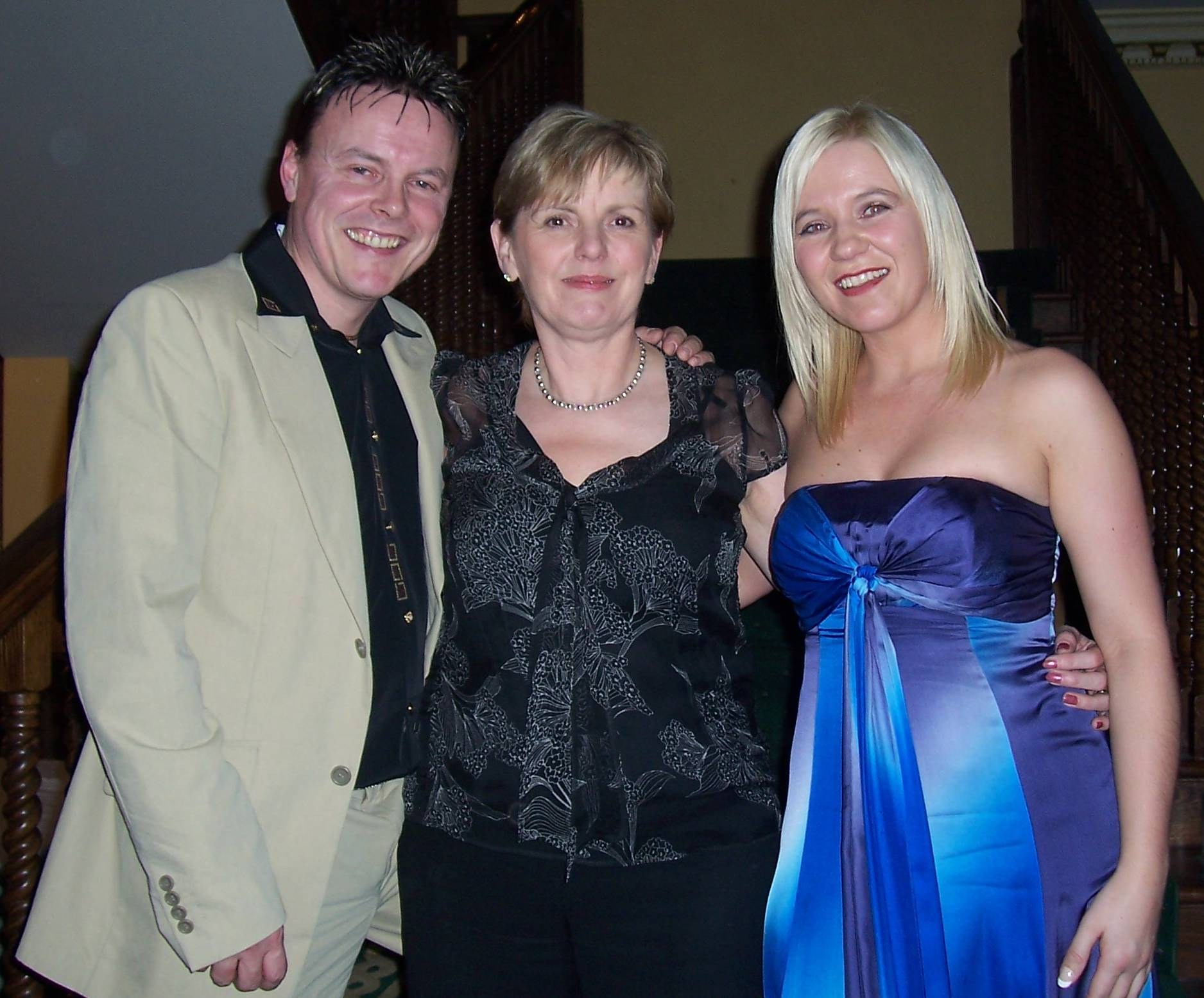 TM, Denise Frazer & FE at Awards, Setanta House Hotel, Kildare